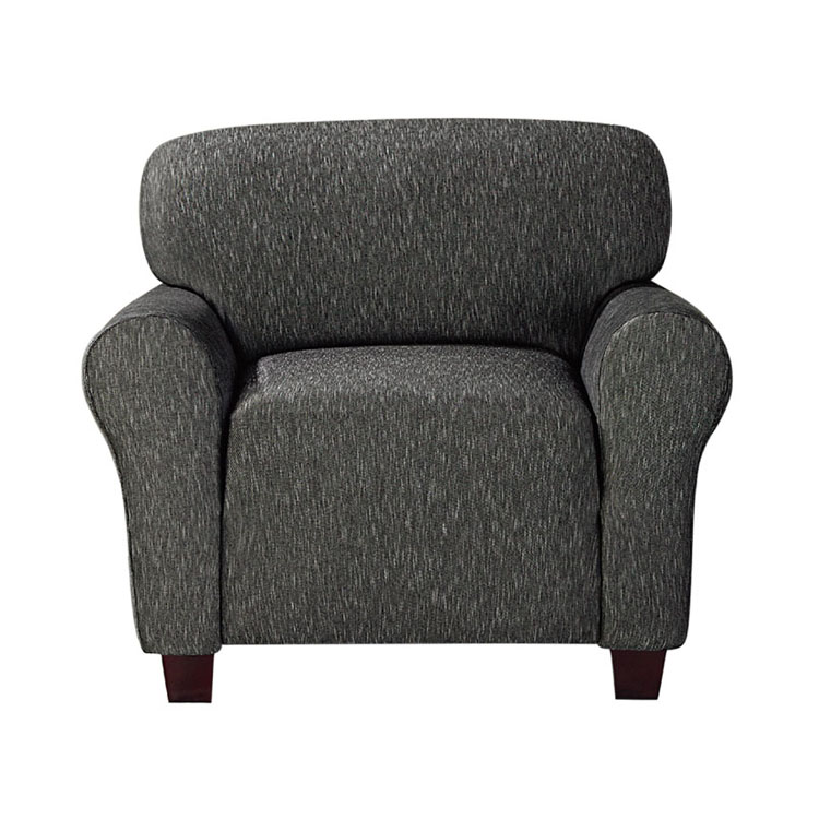 Greatex  Stretch Denim Slipcover 1-Piece Chair Protector- Black/Indigo