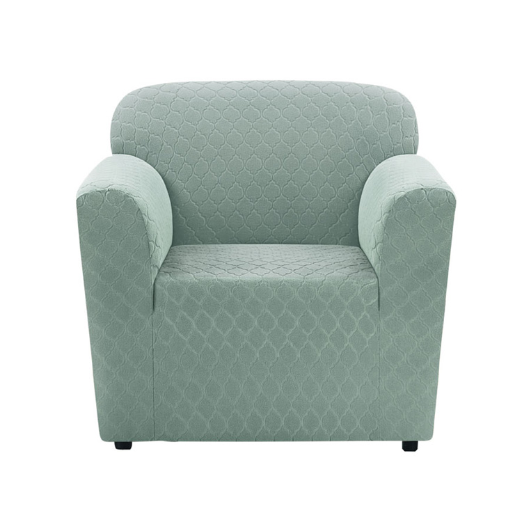 Greatex Stretch Lantern Slipcover 1-Piece Chair- Bean Green/Desert Sand/Nile Blue/Slate Gray