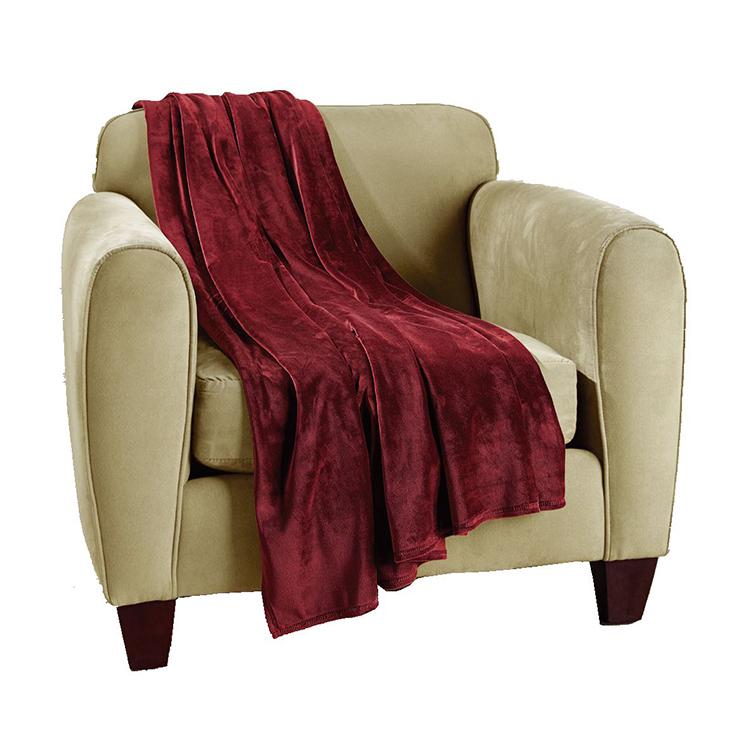 Greatex One-Piece Bellyband Sofa Chair Protector -Chocolate / Loden / Sangria / Indigo / Grey