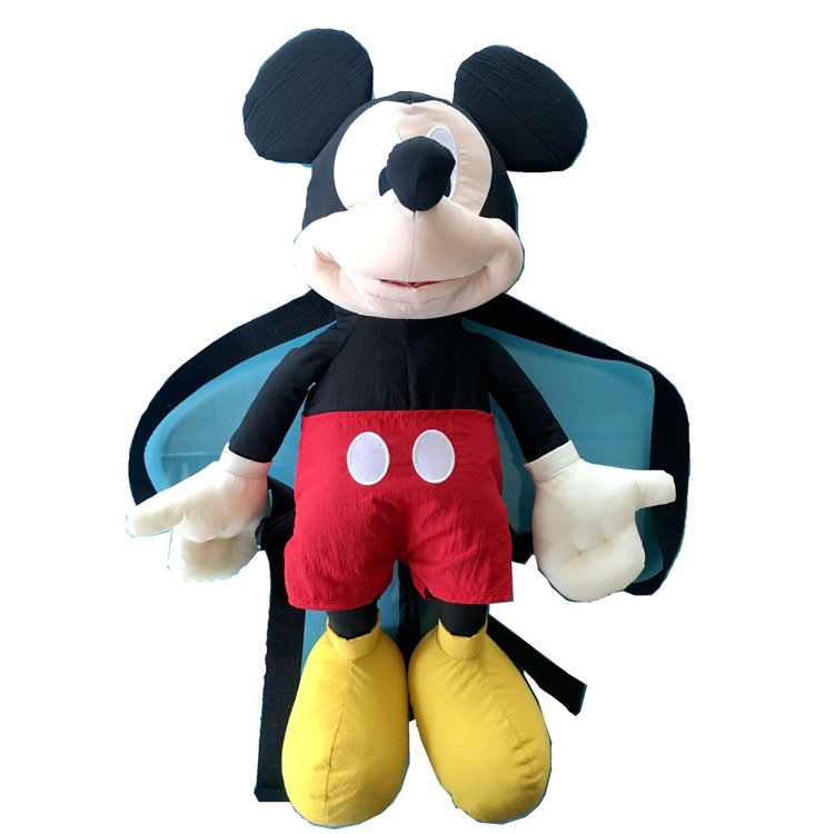 Greatex Custom Soft Plush Animal Figure Bag For Kids